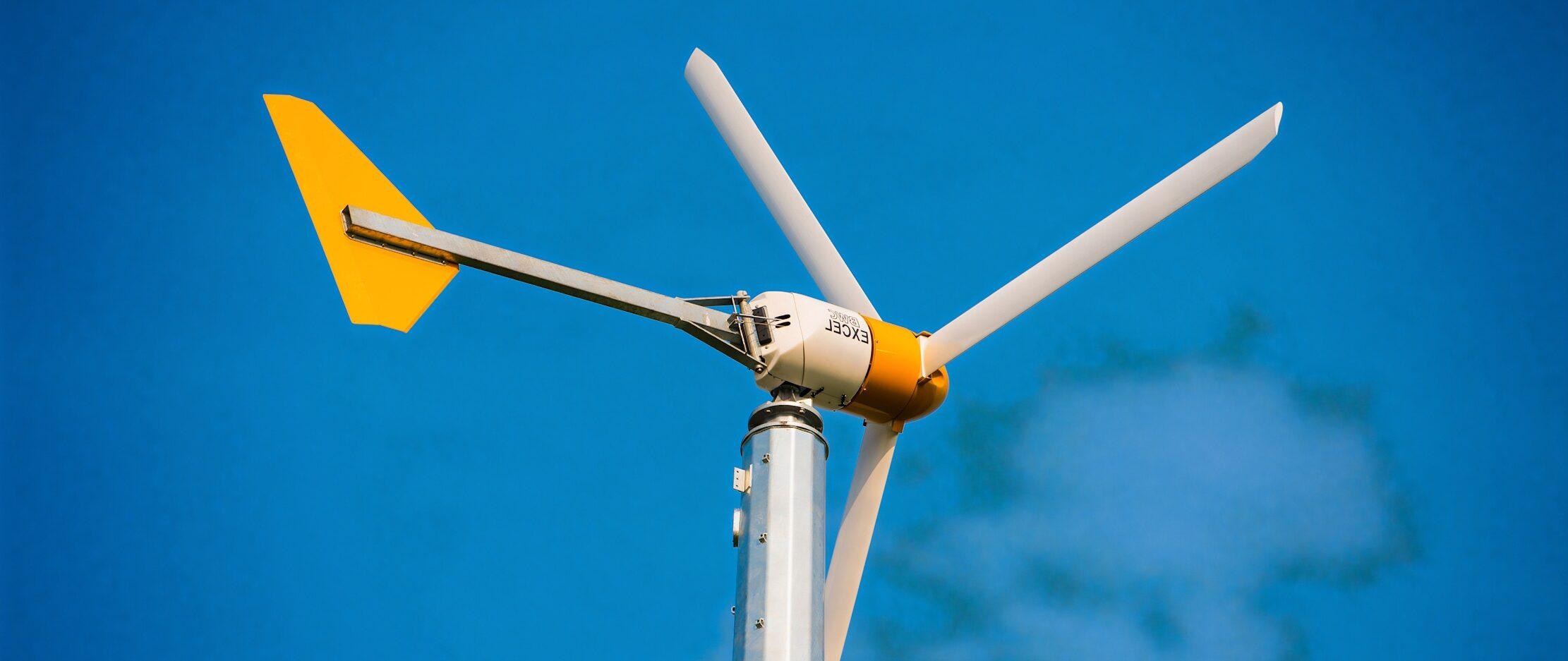 éolienne fabriquée