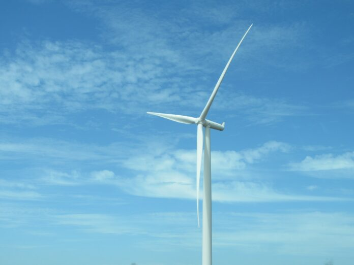 éolienne blanche