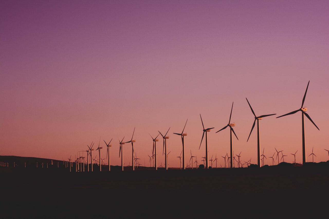 éoliennes ciel